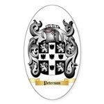 Peterson Sticker (Oval 10 pk)