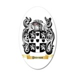 Peterson 20x12 Oval Wall Decal