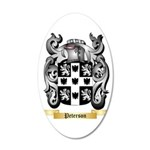 Peterson 35x21 Oval Wall Decal