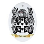 Peterson Oval Ornament