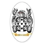 Petersen Sticker (Oval 50 pk)
