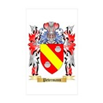 Petermann Sticker (Rectangle 50 pk)