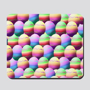 Colorful Easter Eggs Pattern Mousepad