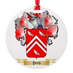 Petch Round Ornament