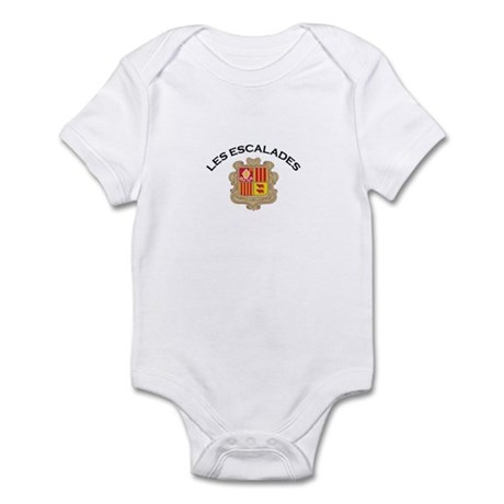 Les Escalades, Andorra Infant Bodysuit