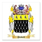 Peskett Square Car Magnet 3