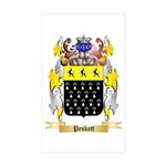 Peskett Sticker (Rectangle 50 pk)