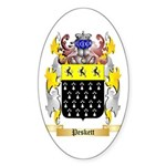 Peskett Sticker (Oval 10 pk)