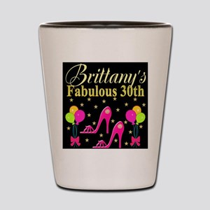 30TH PARTY Shot Glass