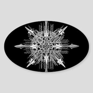 Symmetry, a Diatom by Ernst Haeckel Sticker