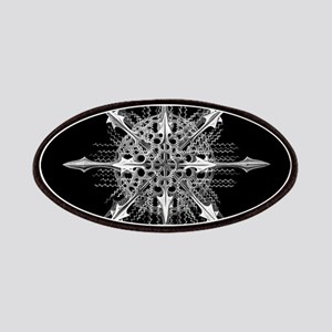 Symmetry, a Diatom by Ernst Haeckel Patch