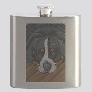 Bernese Mountain Dog Flask
