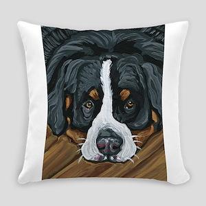 Bernese Mountain Dog Everyday Pillow