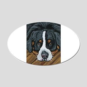 Bernese Mountain Dog Decal Wall Sticker