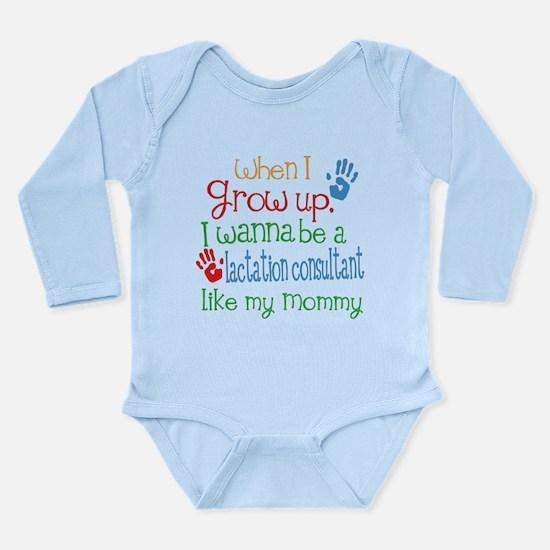 Lactation Consultant L Long Sleeve Infant Bodysuit