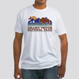 Grand Teton National Park Fitted T-Shirt