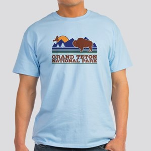 Grand Teton National Park Light T-Shirt
