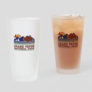 Grand Teton National Park Drinking Glass