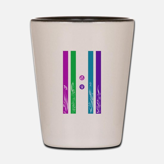 11:11 Colorful Floral Shot Glass