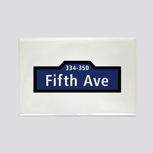 Fifth Avenue, New York City Rectangle Magnet