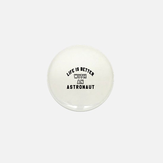 Astronaut Designs Mini Button (10 pack)
