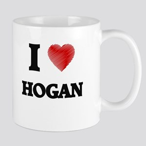 I Love Hogan Mugs
