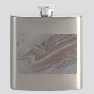 abstract background Flask