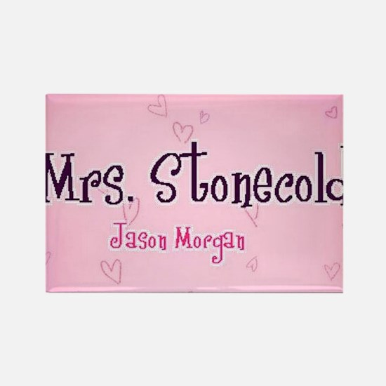 """Mrs. Stonecold"" Rectangle Magnet"