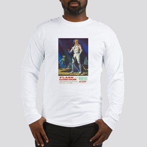Flash Gordon and the Martian Long Sleeve T-Shirt