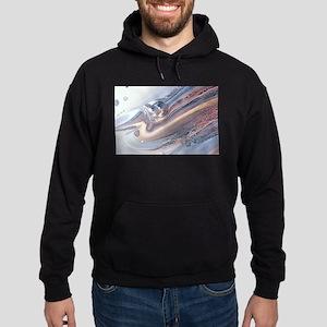 abstract background Hoodie (dark)