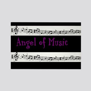 """""""Angel of Music"""" Rectangle Magnet"""