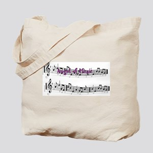 """Angel of Music"" Tote"