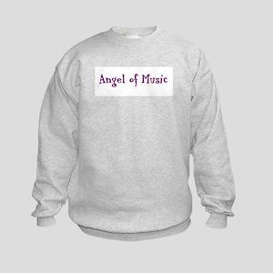 """Angel of Music"" Kids Sweatshirt"