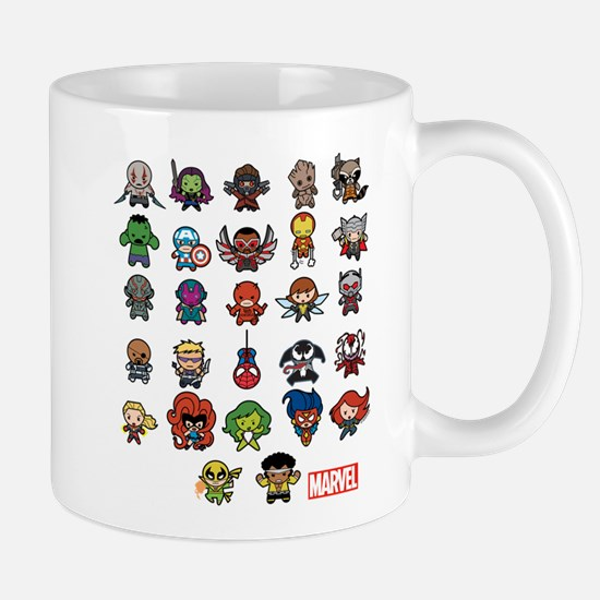 Marvel Kawaii Heroes Mug