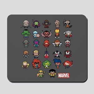 Marvel Kawaii Heroes Mousepad