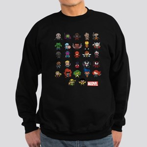 Marvel Kawaii Heroes Sweatshirt (dark)