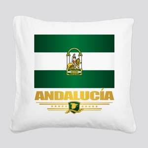 Andalucia Square Canvas Pillow