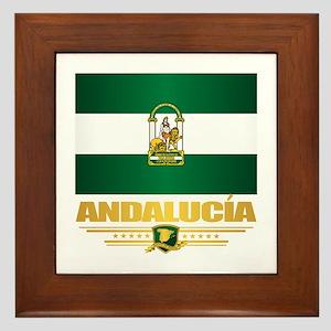 Andalucia Framed Tile