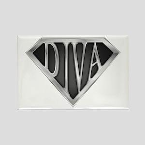 SuperDiva(metal) Rectangle Magnet