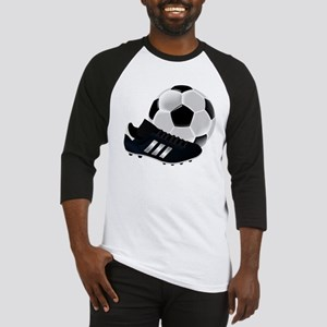 Soccer Ball And Shoes Baseball Jersey