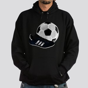 Soccer Ball And Shoes Hoodie (dark)