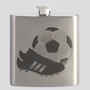 Soccer Ball And Shoes Flask