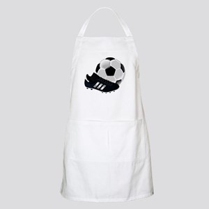 Soccer Ball And Shoes Apron
