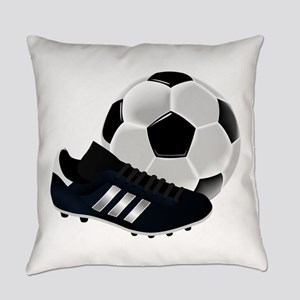 Soccer Ball And Shoes Everyday Pillow