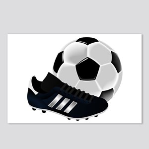 Soccer Ball And Shoes Postcards (Package of 8)