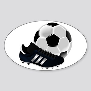 Soccer Ball And Shoes Sticker