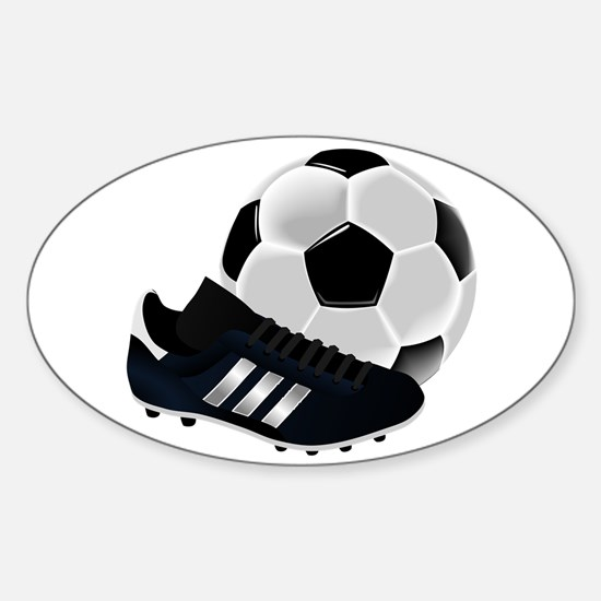 Soccer Ball And Shoes Decal