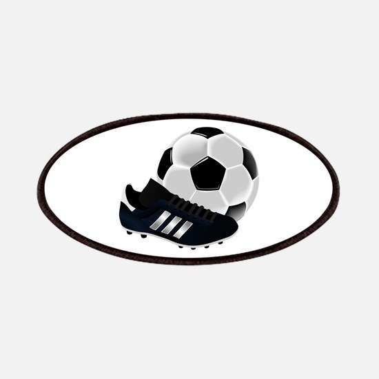Soccer Ball And Shoes Patch