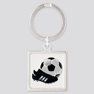 Soccer Ball And Shoes Keychains