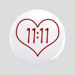 11:11 Colorful Floral Button
